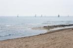 Boats on Burlington Beach