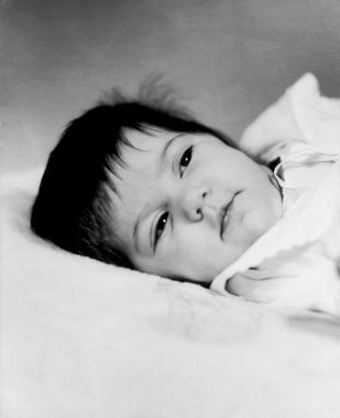 1970 My mommy, Minerva Ugalde Viera, just 15 days after her birth. It was taken in Santa Clara, Villa Clara, Cuba.
