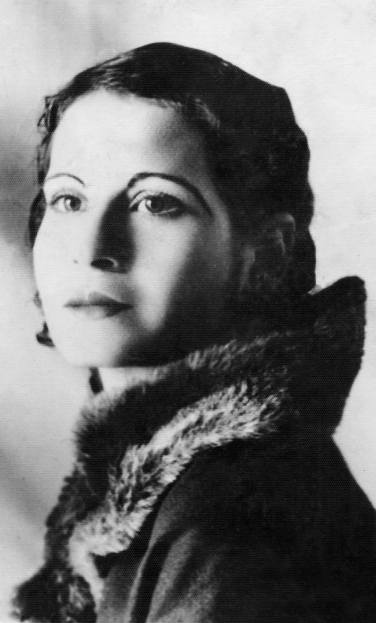c 1935 My great-great aunt, Juana Peña Garcia. In this photo, one can see the classic 1930s makeup style, which accentuated her beautiful face.