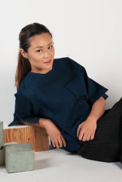 Photographer: Amanda Isusi Ugalde Fashion Design: Stephanie Tjahjadi Makeup: Taylor Barker Photography Assistant: Alicia Crisis Model: Wence Wong