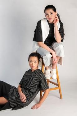 Photographer: Amanda Isusi Ugalde Fashion Design: Stephanie Tjahjadi Makeup: Taylor Barker Photography Assistant: Alicia Crisis Models: Leah Wei & Wence Wong